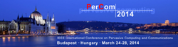 IEEE PerCom 2014 conference